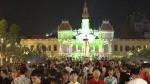 [VIDEO] Sài Gòn tưng bừng đón năm 2017 dù không pháo hoa