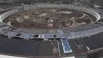 Trụ sở 5 tỷ USD của Apple bị ngập trong bùn