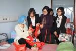 Tập đoàn GFS tổ chức hoạt động ý nghĩa tại Bệnh viện Nhi và Bệnh viện K Hà Nội