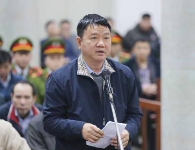 Ông Đinh La Thăng nói lời sau cùng trước Tòa án