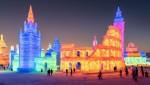 Lâu đài như cổ tích tại lễ hội băng lớn nhất thế giới ở Cáp Nhĩ Tân