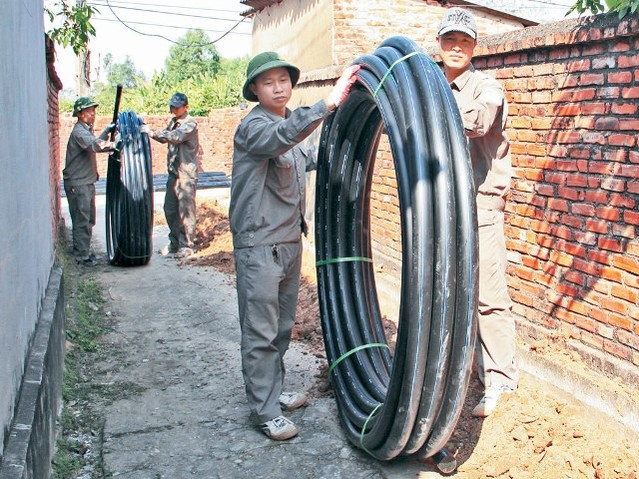 Bắc Giang: Đưa nước sạch về nông thôn