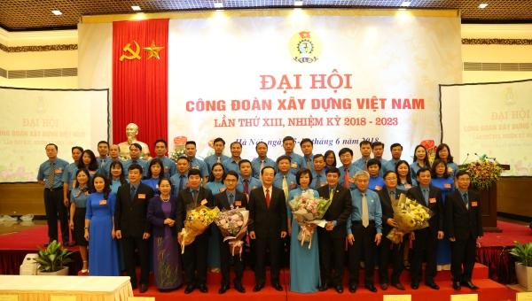 Những sự kiện và hoạt động nổi bật của Công đoàn Xây dựng Việt Nam  năm 2018