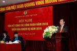 Công đoàn Xây dựng Việt Nam tổ chức Hội nghị tổng kết công tác công đoàn năm 2018 và triển khai nhiệm vụ năm 2019