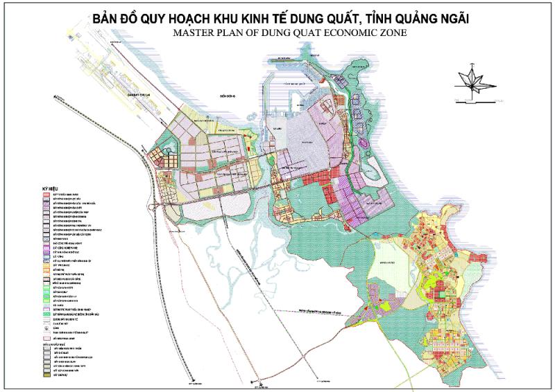 Quảng Ngãi: Điều chỉnh cục bộ quy hoạch Khu công nghiệp phía Tây Dung Quất