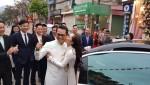 Nhiều nghệ sĩ về Sơn La dự lễ cưới NSND Trung Hiếu và cô dâu 9X