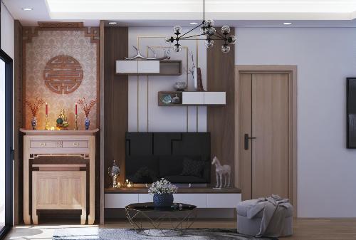 Gợi ý tiêu chí chọn bàn thờ hợp với chung cư