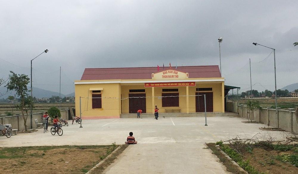 Thanh Hóa: Xử lý các nhà văn hóa thôn, phố dôi dư sau sáp nhập