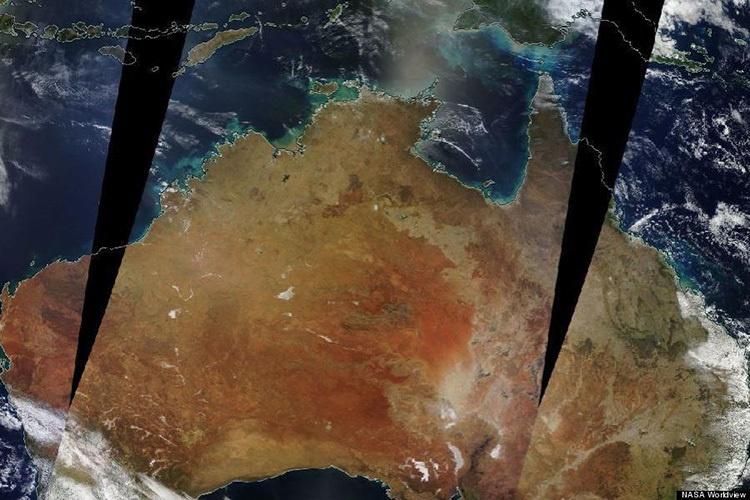 Cháy rừng Australia nhìn từ ảnh vệ tinh