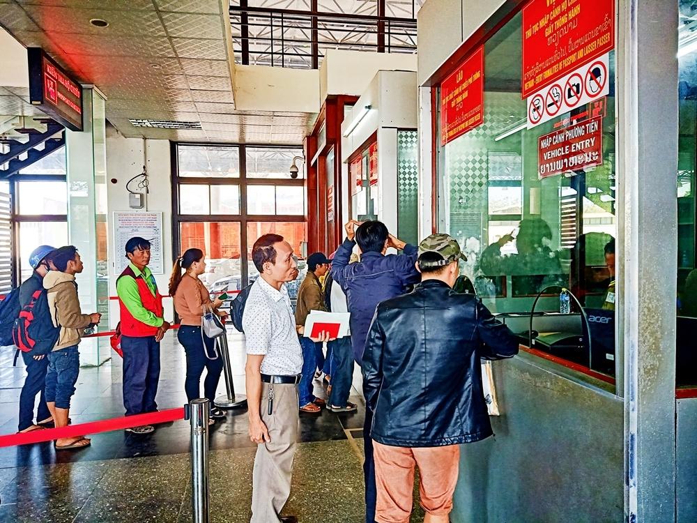 Quảng Trị: Cửa khẩu Quốc tế Lao Bảo những ngày giáp Tết
