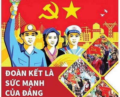 Đoàn kết, thống nhất là sức mạnh của Đảng