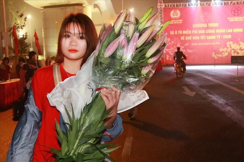 niem vui tren nhung chuyen xe mien phi cho cong nhan lao dong