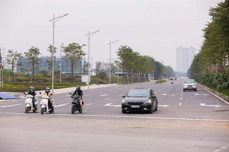 chinh thuc thong xe tuyen duong tu nguyen xien den duong 70 ha dong