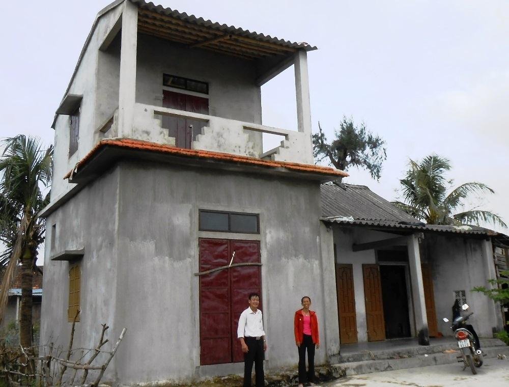 Quảng Bình: Thêm 134 hộ nghèo được hỗ trợ xây nhà ở phòng tránh bão, lụt từ Chương trình GCF