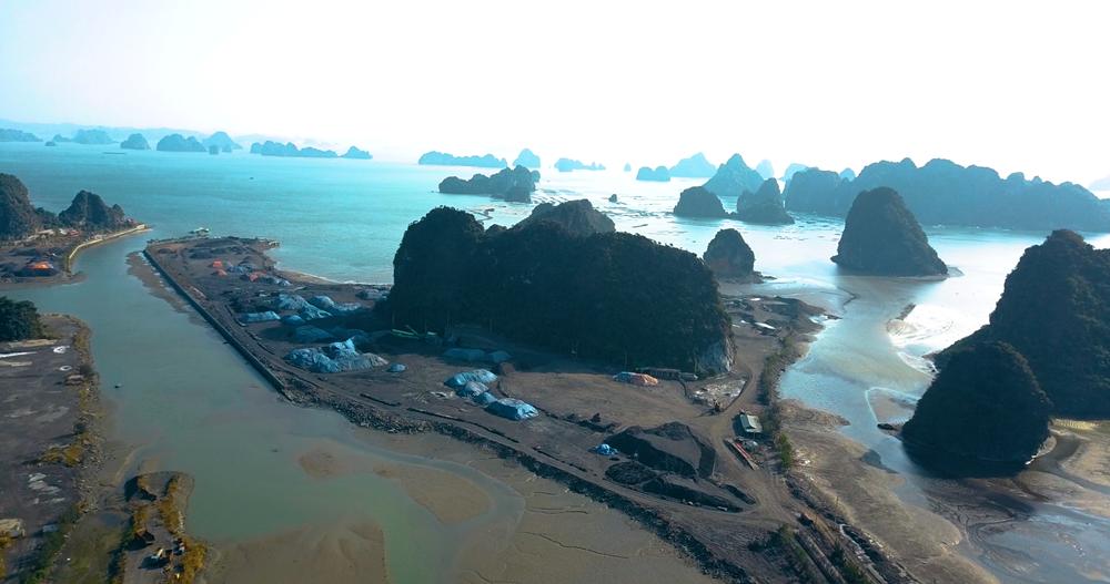 Quảng Ninh: Cảng hàng hoá tổng hợp và kho xăng dầu của Công ty TTP sàng sảy, chế biến than trái phép?