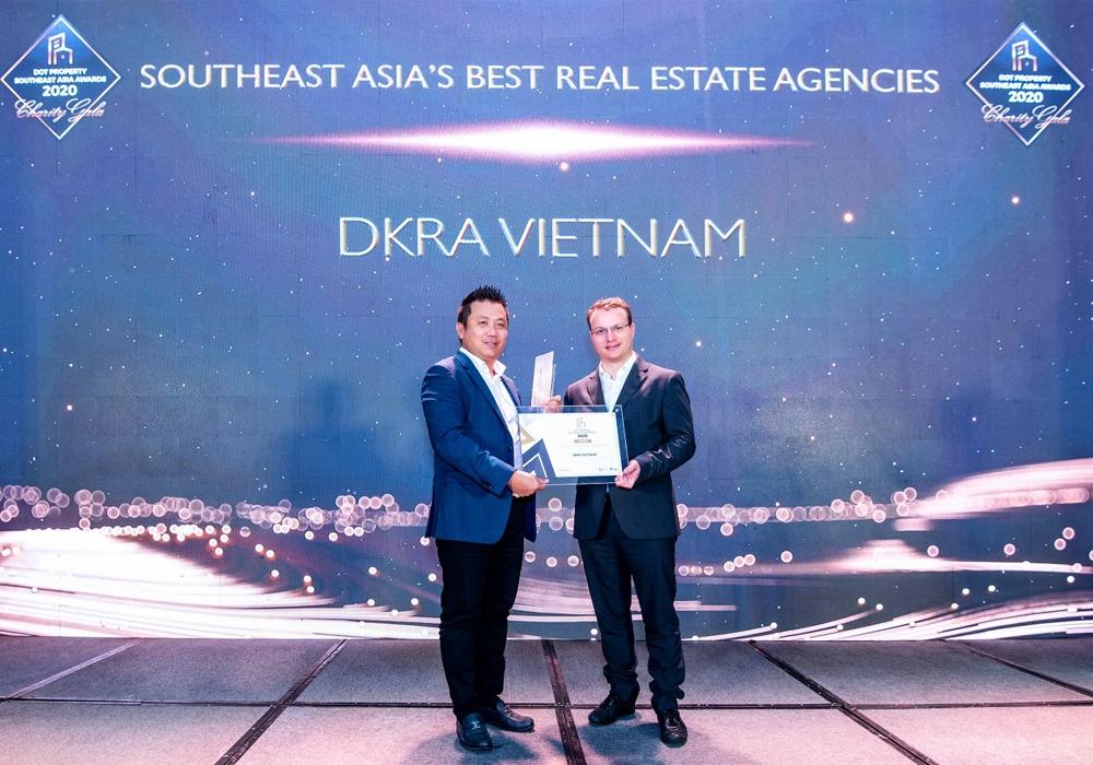 DKRA Việt Nam đoạt giải phân phối và tư vấn bất động sản tốt nhất Đông Nam Á