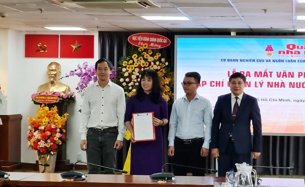 Ra mắt văn phòng đại diện Tạp chí Quản lý Nhà nước tại Thành phố Hồ Chí Minh