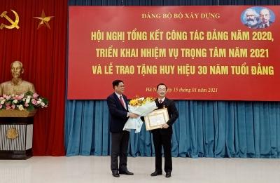 Đảng bộ Bộ Xây dựng tổng kết công tác Đảng năm 2020 và triển khai nhiệm vụ năm 2021