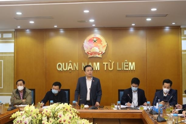 Phó Chủ tịch UBND Thành phố Hà Nội Chử Xuân Dũng họp khẩn với UBND quận Nam Từ Liêm