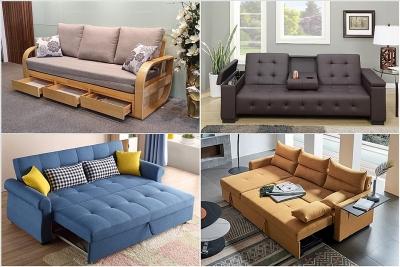Sofa giường - giải pháp tuyệt vời cho ngôi nhà hiện đại