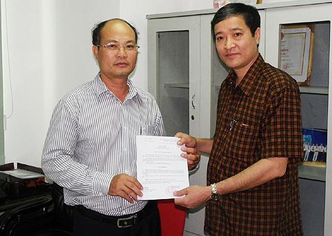 Ông Lê Xuân Viên làm Trưởng cơ quan đại diện Báo Xây dựng tại TP.HCM