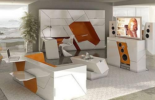 090742baoxaydung image006 Thiết kế nội thất đa năng biến hình cho nhà chật