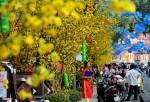 Hà Nội, Sài Gòn ngập tràn không khí Tết