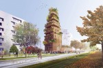 Thiết kế được bao phủ bởi thảm thực vật tại Paris