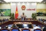 Nghị quyết phiên họp Chính phủ thường kỳ tháng 1/2017