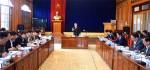 Yên Bái: Tân Chủ tịch Đỗ Đức Duy làm việc với các ngành, địa phương về công tác xây dựng quy hoạch