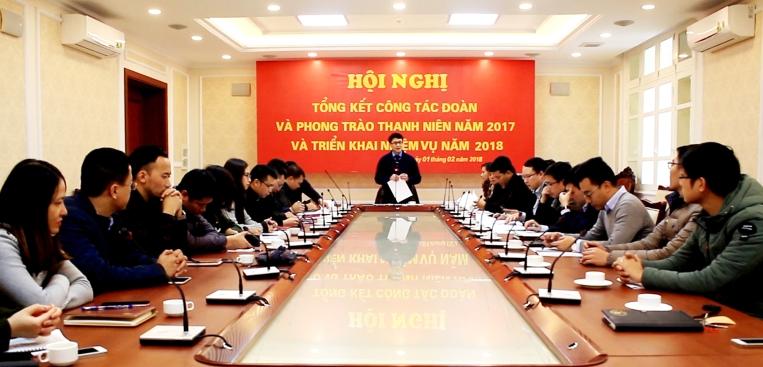 Đoàn Thanh niên Bộ Xây dựng tổ chức Hội nghị triển khai nhiệm vụ năm 2018