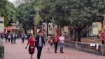 Quảng Ninh: 3 ngày Tết gần ba vạn du khách đến Di tích nhà Trần ở Đông Triều