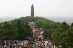 Bắc Ninh: Tưng bừng Lễ hội khán hoa mẫu đơn tại chùa Phật Tích