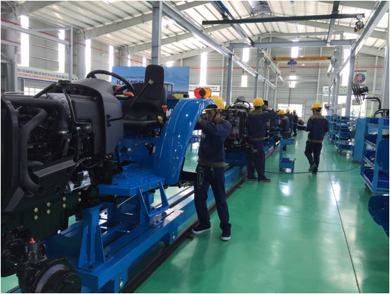 Trường Hải khánh thành Nhà máy sản xuất máy nông nghiệp