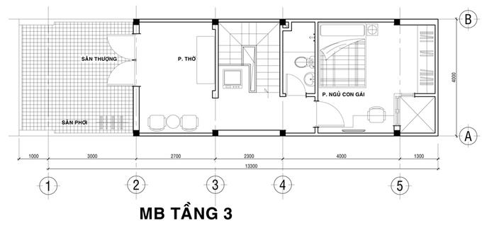 142145baoxaydung image003 - Tư vấn xây nhà ba tầng 850 triệu ở Sài Gòn