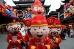 Trung Quốc ngập tràn sắc màu đón Tết Kỷ Hợi