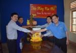 Quảng Trị: Lãnh đạo Sở Xây dựng thăm chúc Tết những doanh nghiệp sản xuất trong Ngành