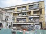 Di dời khẩn cấp các hộ dân tại chung cư bị hư hỏng nặng