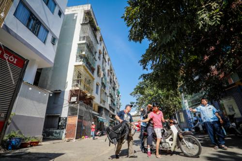 Chung cư nghiêng ở trung tâm Sài Gòn sẽ được tháo dỡ