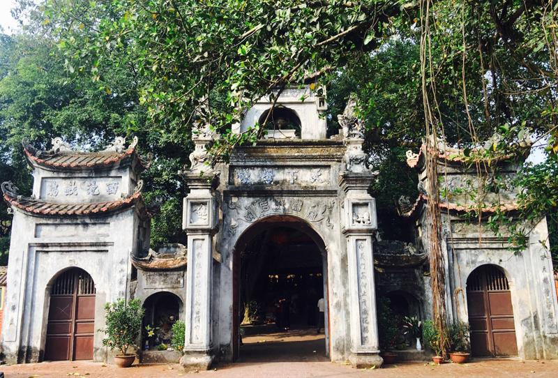 Du xuân tại Đền Mẫu Hưng Yên