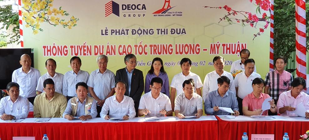 Phát động thi đua thông tuyến dự án cao tốc Trung Lương – Mỹ Thuận