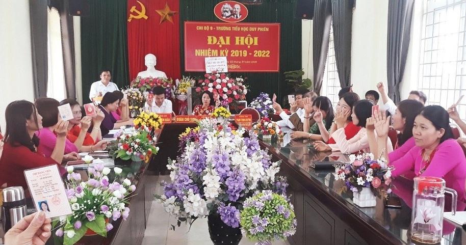 Tam Dương (Vĩnh Phúc): Tập trung xây dựng cơ sở Đảng vững mạnh