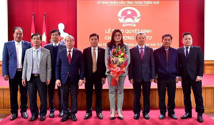 Thừa Thiên - Huế: Sắp có tổ hợp nhà máy sản xuất, lắp ráp ôtô 2.655 tỷ đồng