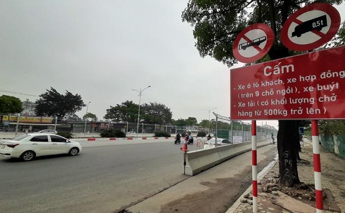 Hà Nội cấm nhiều loại xe đi vào đường đua F1