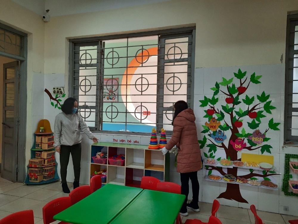 Vĩnh Phúc: Ngành Giáo dục thành phố Vĩnh Yên chủ động phòng, chống dịch Corona