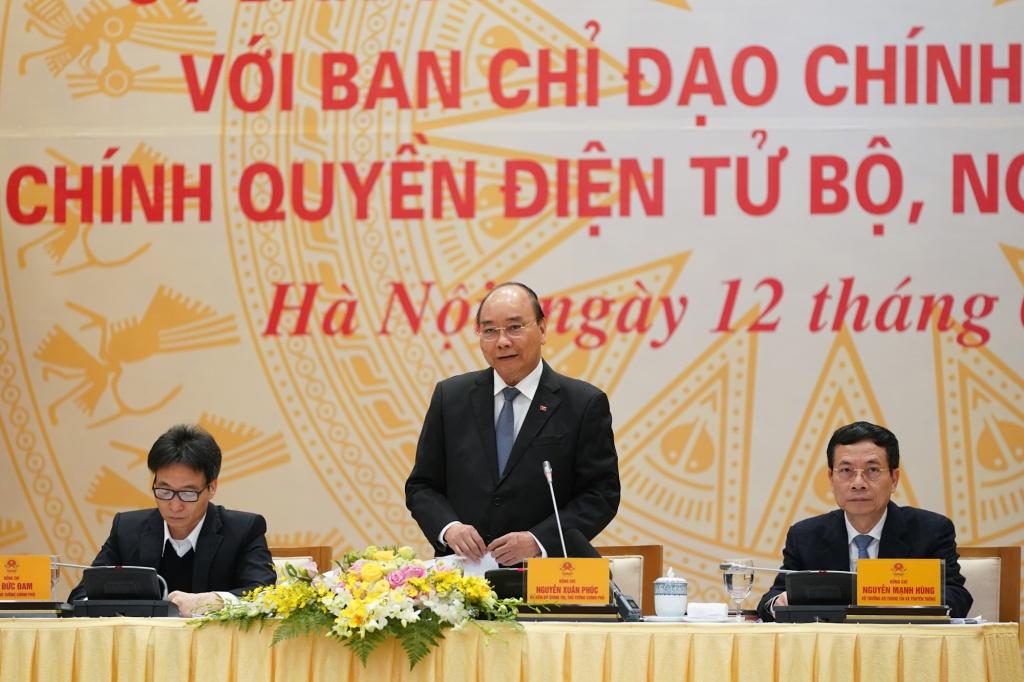 Thủ tướng: Làm tốt Chính phủ điện tử giúp ngăn ngừa Covid-19