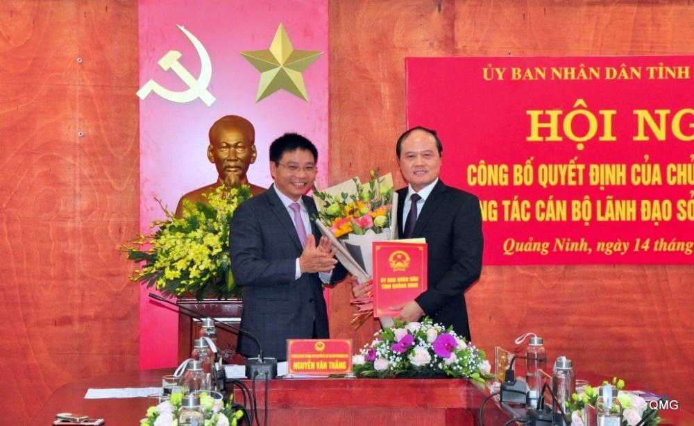 Quảng Ninh: Sở Giao thông vận tải có tân Giám đốc