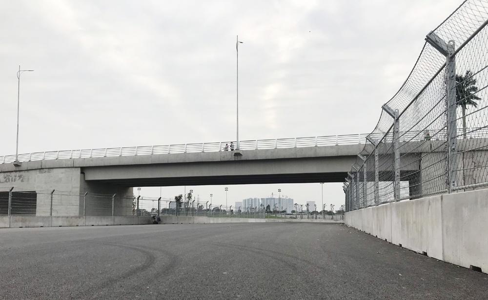 Nhà thầu Việt hoàn thành đường đua F1