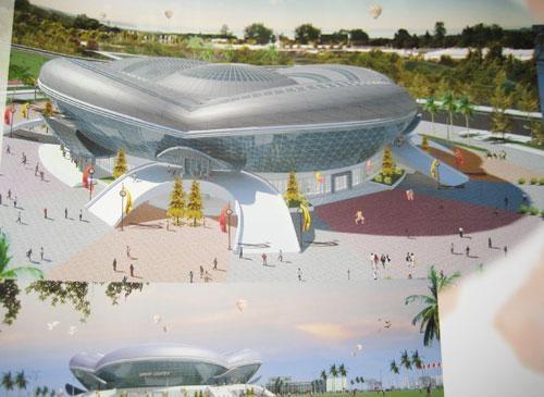 Quảng Bình: Công trình nhà thi đấu đa năng cấp tỉnh trễ hẹn 10 năm rồi sẽ ra sao?