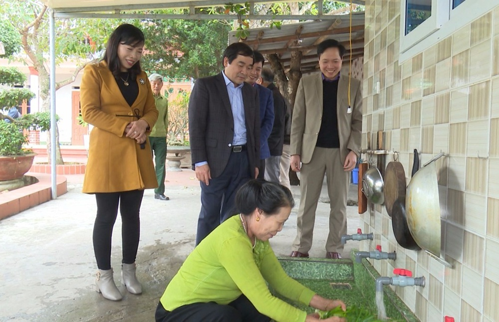 Thái Thụy (Thái Bình): Tỷ lệ hộ dân sử dụng nước sạch đạt 97%